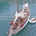 Rondine II 1948 Sangermani yawl 17.68 mt - 300.000 € increased for new restoration