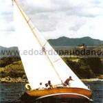 bermudian sloop 8.52 mt, 1961 - restoration