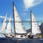 BAGLIETTO ketch 21 mt 1955 - 200.000 € big price reduction