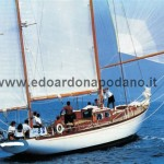 1961 Sangermani yawl 17 mt