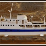example of restoration of displacement motor-yacht