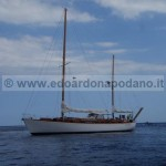 Not actually for sale: wainting for maintenance - 1962 Sangermani yawl 16.85 mt