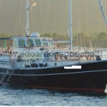18.50 mt dutch steel motorsailer-Doggersbank with auxiliary sail - 1982