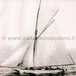 1908 Fred Shepherd gaff cutter 17 mt