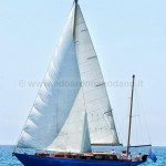 13.93 mt Mio Mao Sangermani yawl 1964 - now perfectly restored