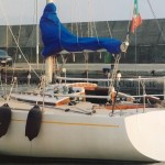 PRICE REDUCTION! - 23.000 € - 8.30 mt Half Ton Sciarrelli 1975 - natante