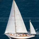 SUSANNA II - 19.40 MT SANGERMANI - L. Giles - 1964 - winner of 3 Giraglia - 190.000 € - some restoration need