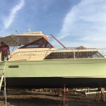 1972 Chris Craft Commander 32