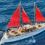 1933 MAUDALRIC 17 m. displacement motoryacht -schooner rigged