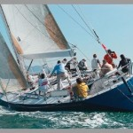 18 m. German Frers alluminium sloop