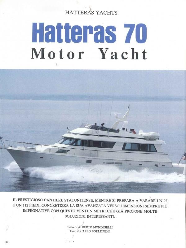 Hatteras 70