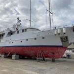 23.65 m displacement Shipbuilders International 1989 - 600.000 €